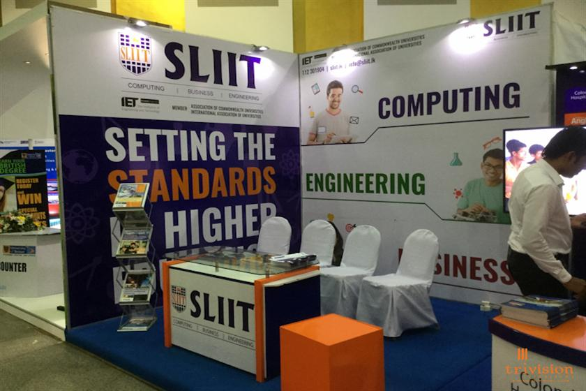 Exhibition Stall Builders In Sri Lanka : Trivision creations